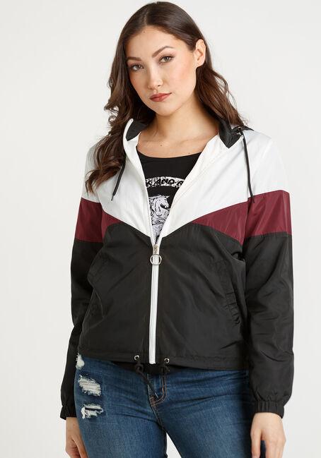 Women's Hooded Windbreaker Jacket