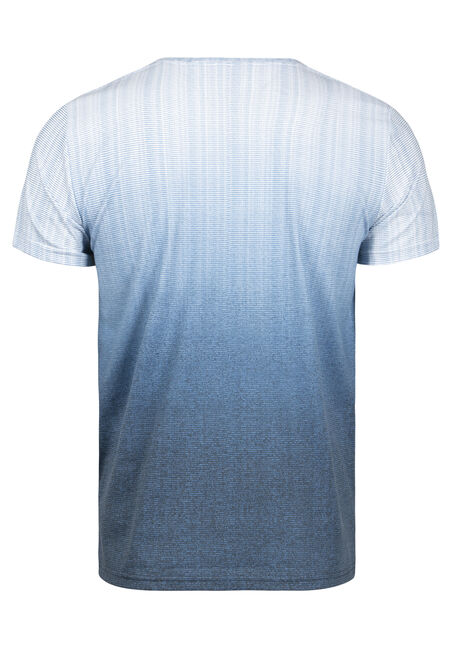 Men's Ombre Everyday V-Neck Tee, MIDNIGHT NAVY, hi-res