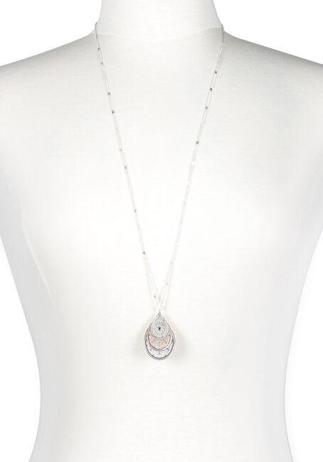 Women's Trio Drop Necklace