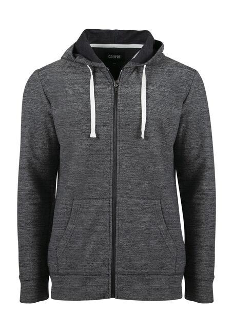 Men's Zip Front Hoodie