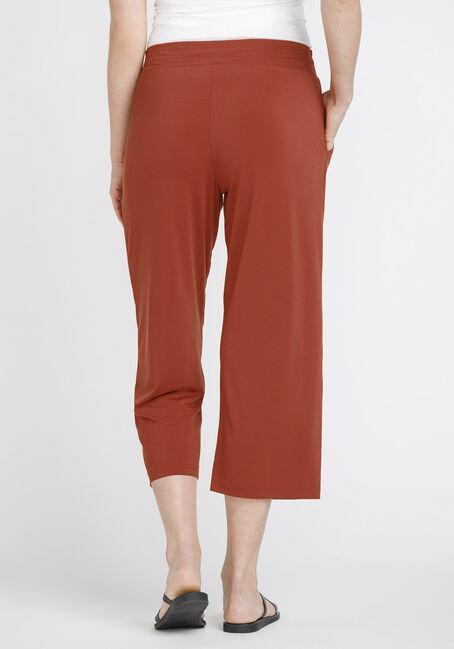 Women's Cropped Wide Leg Capri, SEDONA, hi-res