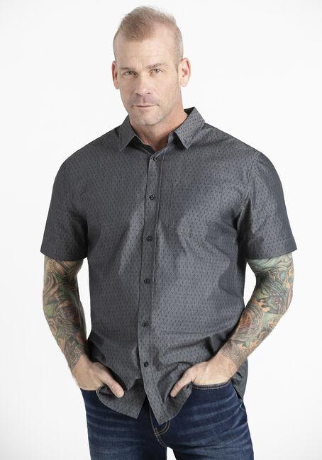 Men's Tonal Print Shirt