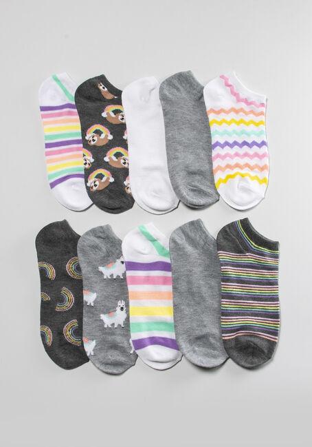 Women's Llama 10 Pack Ankle Sock