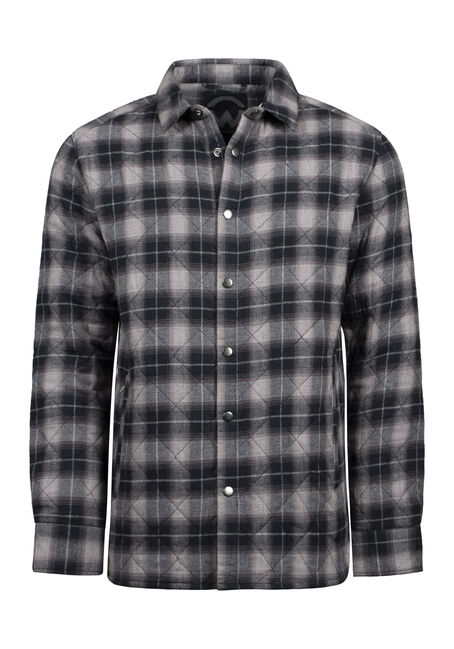 Men's Flannel Work Jacket
