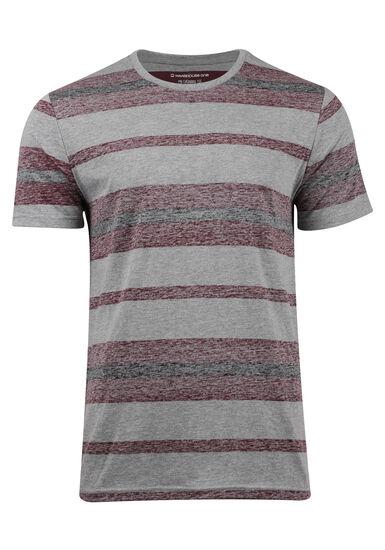 Men's Everyday Striped Tee, FIG, hi-res