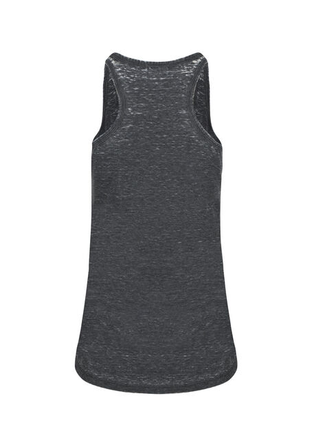 Womens' Alberta Strong Tank, BLACK, hi-res