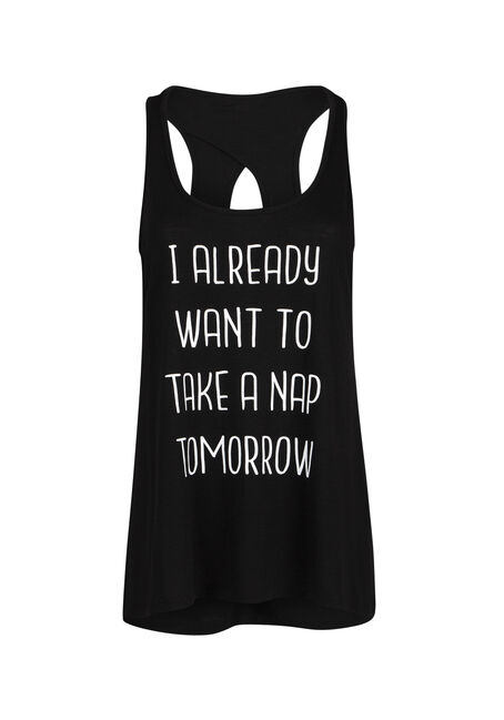 Ladies' Nap Tomorrow Keyhole Tank