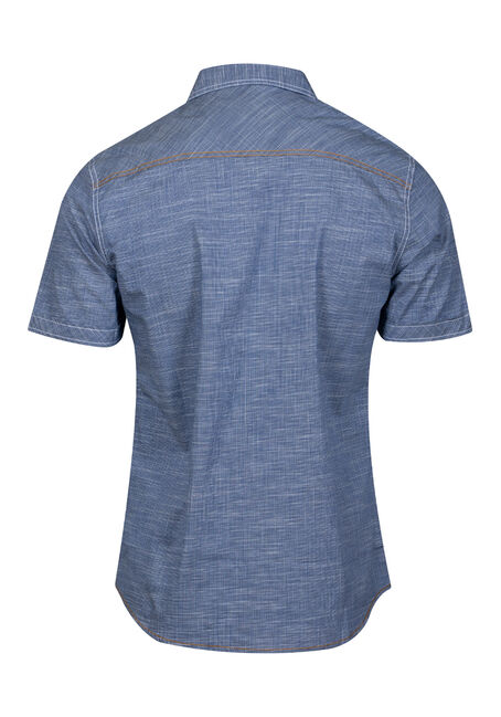 Men's Two Pocket Shirt, NAVY, hi-res