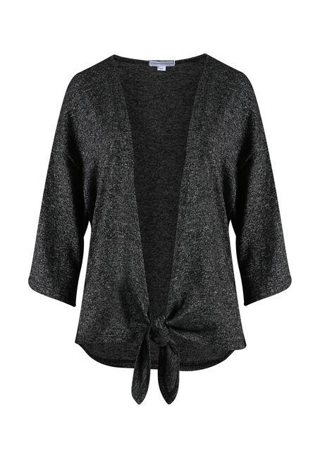 Ladies' Tie Front Cardigan