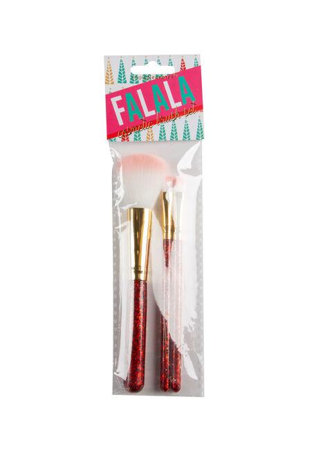 Cosmetic Brush Set, PINK, hi-res