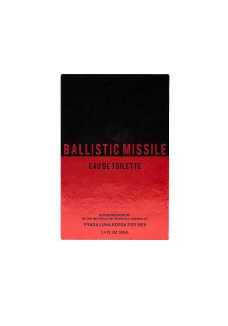 Men's Ballistic Missile Cologne, RED, hi-res