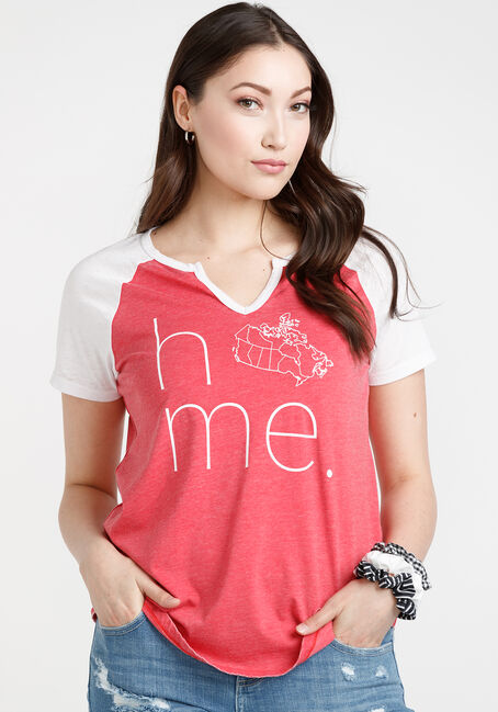 Women's Home Notch Neck Tee