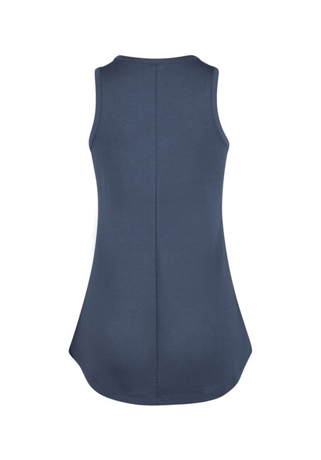 Ladies' Cage Neck Tank, MOONLIGHT BLUE, hi-res