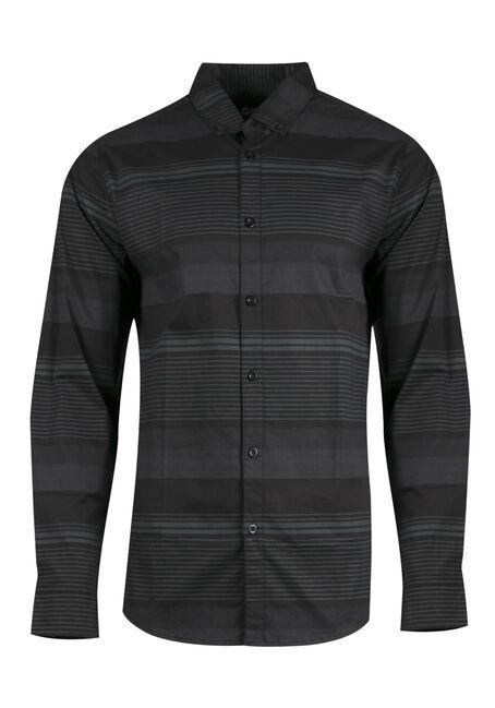 Men's Comfort Stretch Stripe Shirt