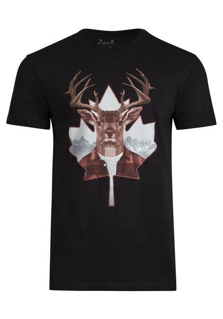 Men's Canadian Buck Tee
