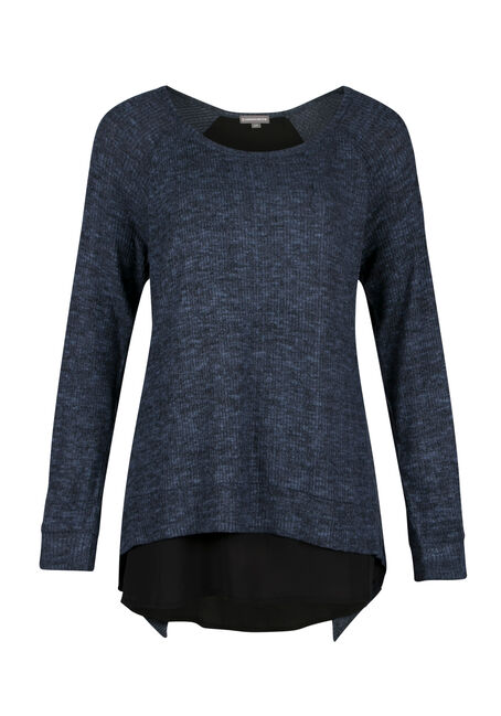 Ladies' Rib knit Pullover