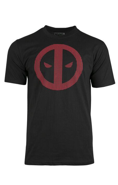 Men's Deadpool Textured Print Tee