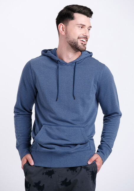 Men's Washed French Terry Hoodie