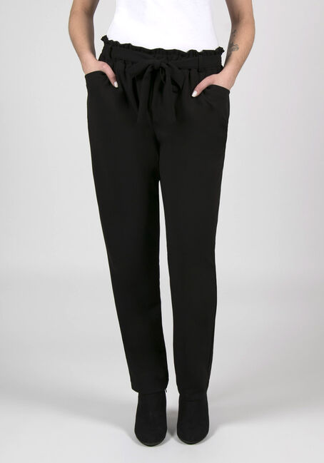 Ladies' Paper Bag Waist Pants