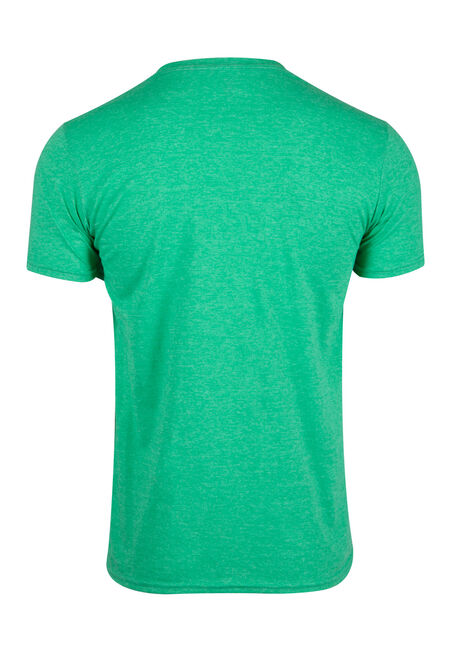 Men's Drinker Not A Fighter Tee, HEATHER IRISH GREEN, hi-res