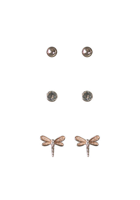 Ladies' Dragonfly Earring Set