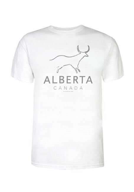 Men's Alberta Longhorn Tee