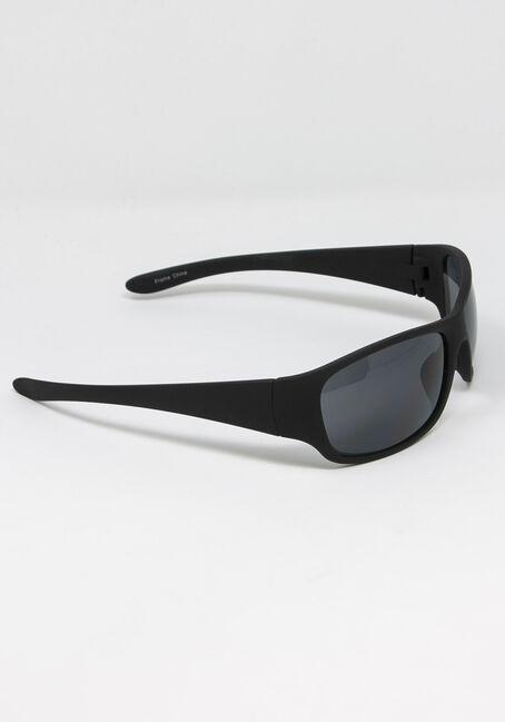 Men's Black Lens Sunglasses, BLACK, hi-res