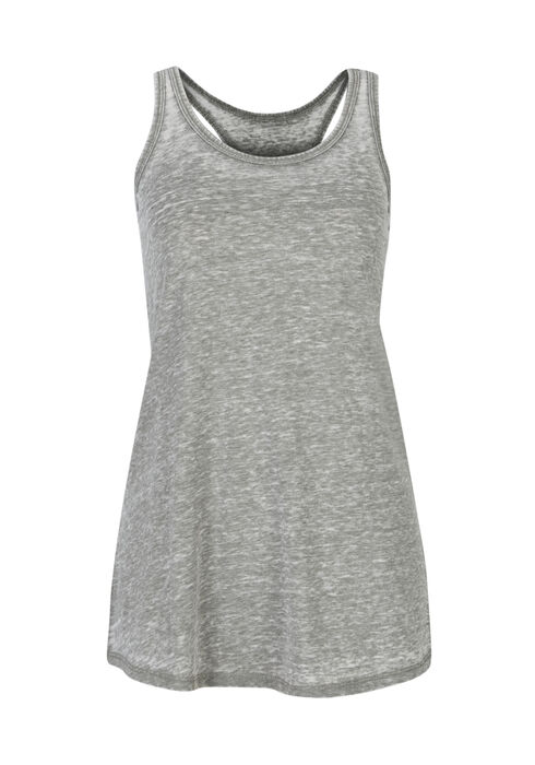 Ladies' Burnout Racerback Tank, MOSS, hi-res