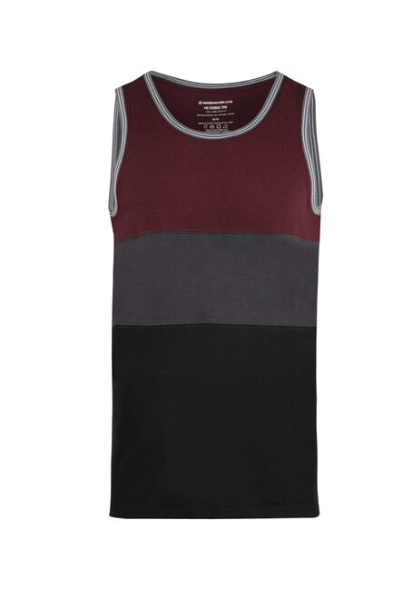 Men's Colour Block Tank