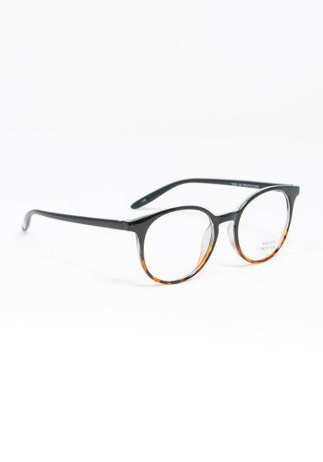 Women's Tortoise Blue Light Glasses, BLACK, hi-res