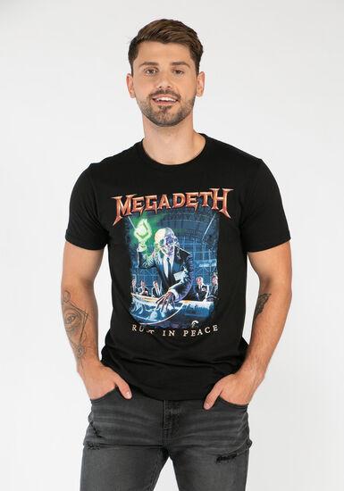 Men's Megadeth Tee, BLACK, hi-res