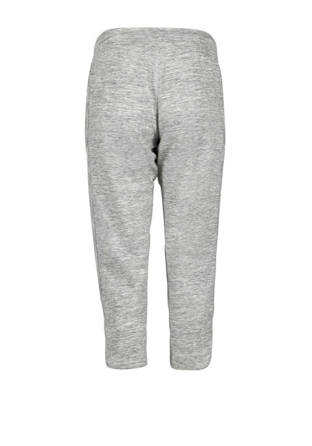 Women's Curved Hem Capri, GREY, hi-res
