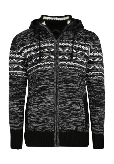 Men's Nordic Sweater Jacket