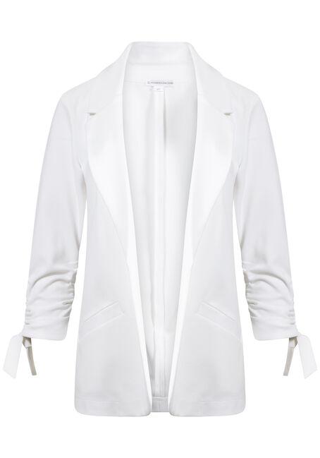 Women's Tie Sleeve Blazer