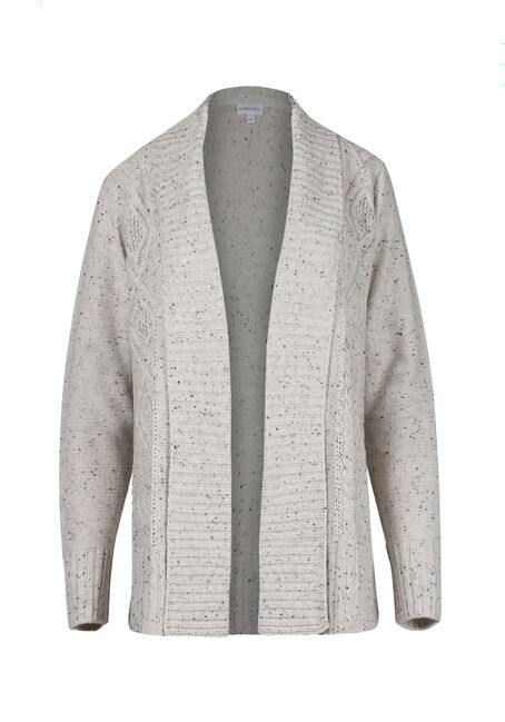 Ladies' Cable Knit Cardigan