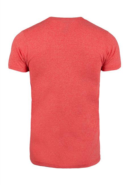 Men's Hipster Beaver Tee, RED, hi-res