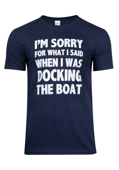 Men's Boating Graphic Tee