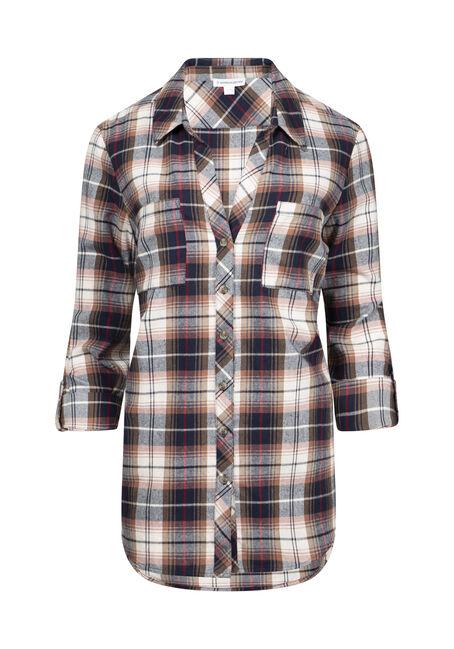 Women's Boyfriend Flannel Shirt
