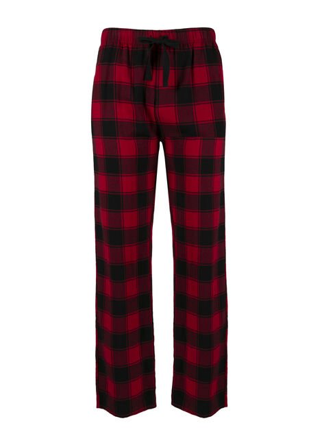 Men's Buffalo Plaid Flannel Lounge Pant