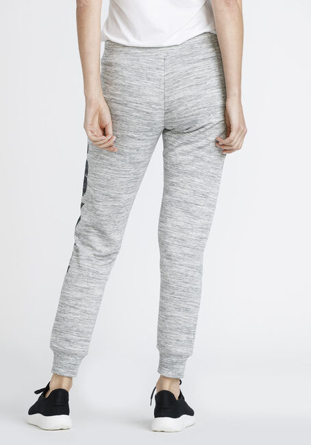 Ladies' Love Space Dye Jogger, GREY MIX, hi-res
