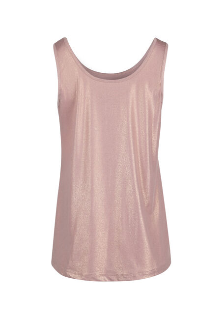 Women's Shimmer Tank, TICKLED PINK/TONAL, hi-res
