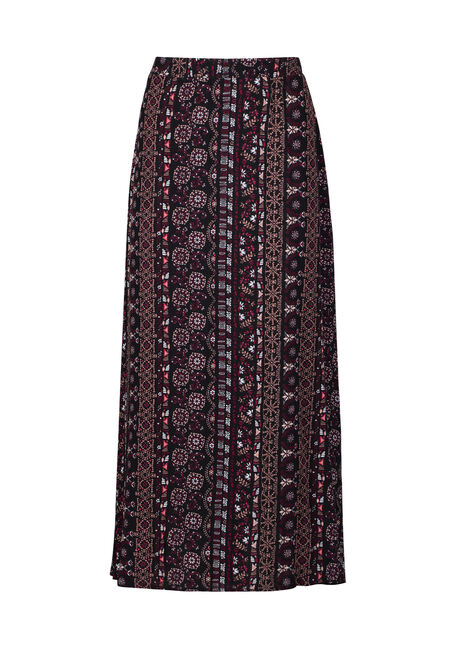 Women's Side Slit Maxi Skirt