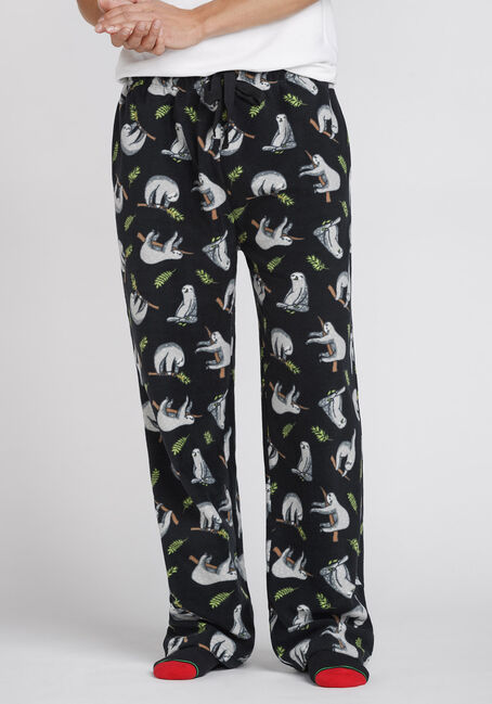 Men's Sloth Fleece Sleep Pant