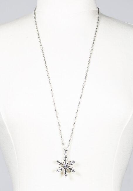 Women's Snowflake Necklace