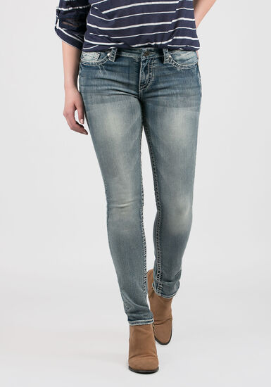 Women's Skinny Jeans, LIGHT WASH, hi-res