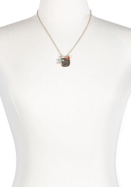 Women's Ocean Charm Necklace