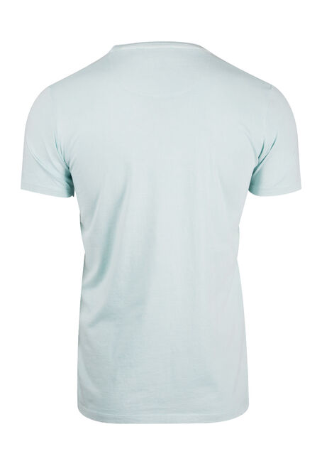 Men's Washed Tee, AQUIFIER, hi-res