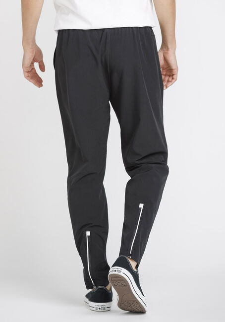 Men's Zip Cuff Track Pant, BLACK, hi-res