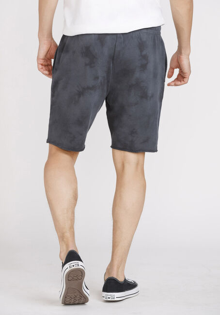 Men's Tie Dye Shorts, SLATE, hi-res