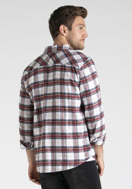 Men's Plaid Flannel Shirt, APACHE, hi-res